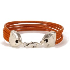 Minnesota Unisex Bracelet - in Burnt Orange