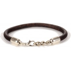 Illinois Unisex Bracelet - in Chocolate