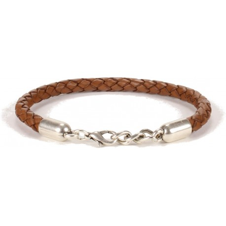 Illinois Unisex Bracelet - in Brown