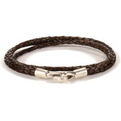 Iowa Unisex Bracelet - in Antique Brown