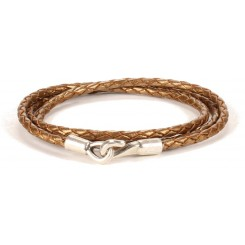 Iowa Unisex Bracelet - in Bronze