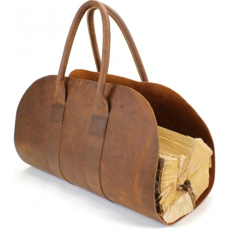 Leaf Firewood Carrier