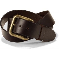 Men's Buck Belt - Dark Brown