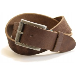 Unisex Buck Belt - Brown