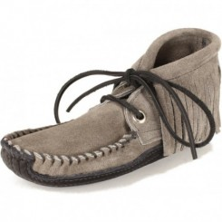 Women's Obion - Dark Grey Fringe