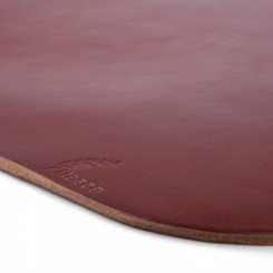 Platte Leather Placemat - Russet