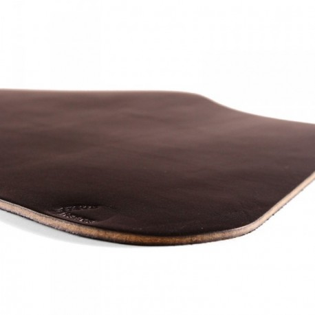 Wexford Leather Placemat for Round Table - Black