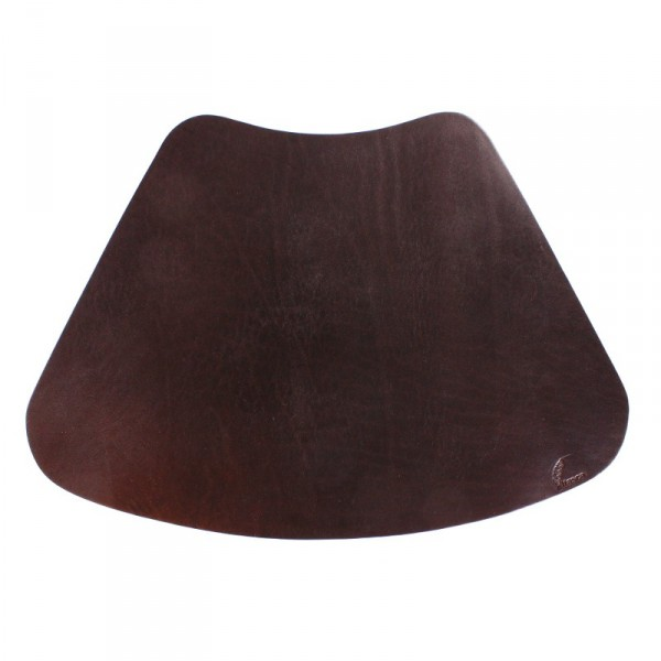 ... Wexford Leather Placemat For Round Table   Black