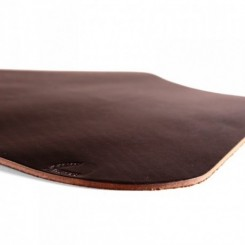 Wexford Leather Placemat for Round Table - Dark Brown