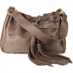 Galena Shoulder Handbag - Coffee