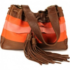 Galena Shoulder Handbag - Peachy Keen