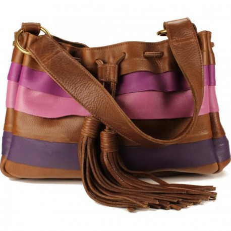 Galena Shoulder Handbag - Purple Ombre
