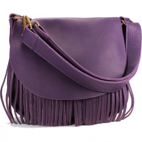 Beaucoup Shoulder-to-Crossbody Handbag - Grape
