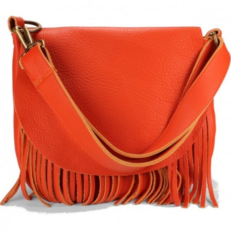Beaucoup Shoulder-to-Crossbody Handbag - Orange