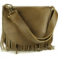 Beaucoup Shoulder-to-Crossbody Handbag - Olive Brown