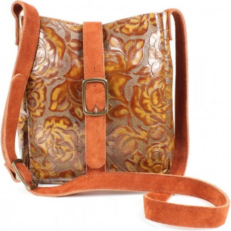 Trempealeau Crossbody Handbag - Caramel Rose