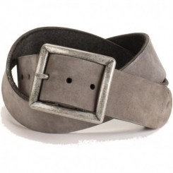 Men's Buck Belt - Charcoal Nubuck