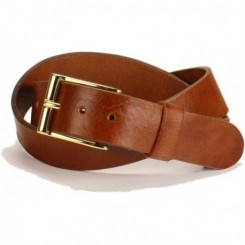 Men's Grant Belt - Tobacco Aztec