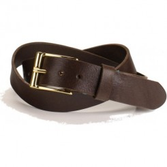 Men's Grant Belt - Dark Brown Aztec