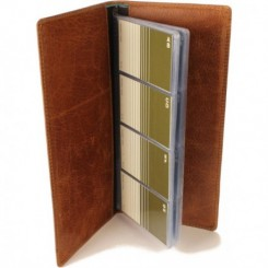 Zumbro Business Card Folio - in Walnut
