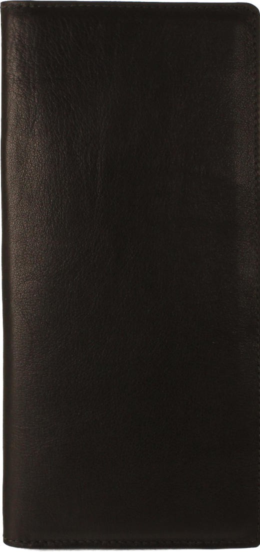Itasca Leathergoods | Zumbro Business Card Folio - in Black | Made ...