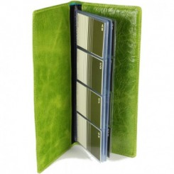 Zumbro Business Card Folio - in Kiwi