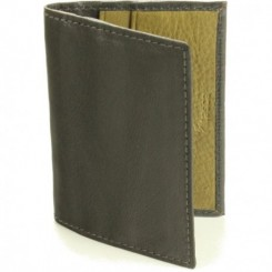 Calamus Credit Card Wallet - in Black Olive
