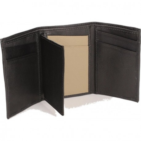 Cannon Trifold Wallet - in Black Sand