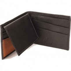 Rush Bifold Wallet - in Black Cork