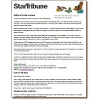 Star Tribune Article 2012